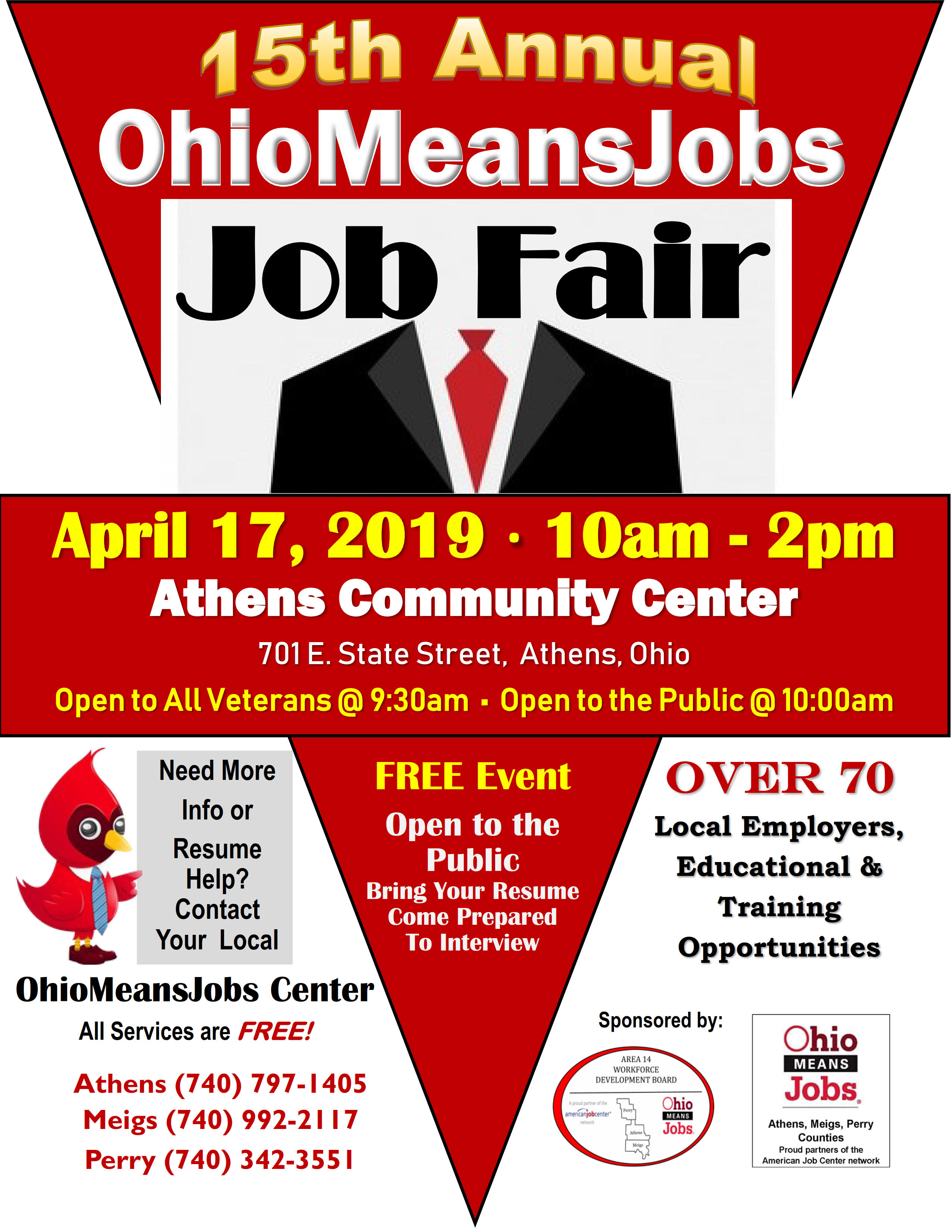15th Annual Ohiomeansjobs Job Fair Perry County Ohio